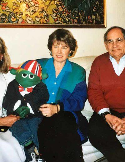 När vi besökte prins Raad och prinsessan Magda i Jordanien och gjorde program om prinsessans handikappcenter